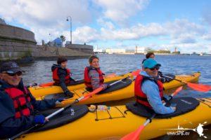Каякинг по рекам и каналам в Санкт-Петербурге