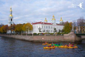 Каякинг туры Санкт-Петербург