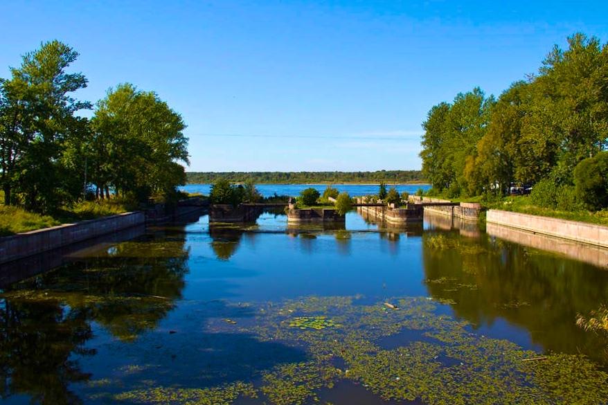 На каяках по Новоладожскому каналу