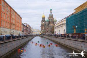 Прогулки на каяках в Санкт-Петербурге