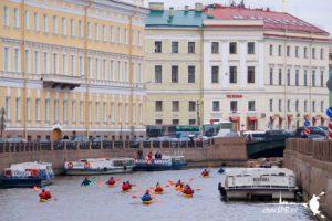 Санкт-Петербург каякинг по каналам