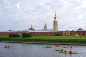 Санкт-Петербург каякинг-туры по рекам и каналам