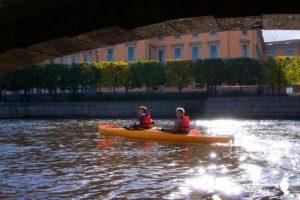 питер каяк водные прогулки в Санкт-Петербурге