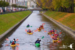 питер каяк туры по каналам Санкт-Петербурга