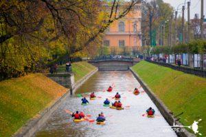 piterkayak водные туры в Санкт-Петербурге