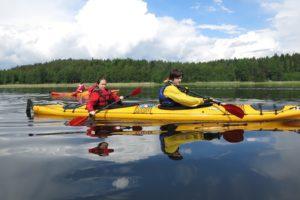 Karelian isthmus kayaking trips