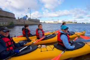 Kayaking in Saint Petersburg Gulf of Finland Kayak Trip (Saturday and Sunday)
