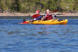 Laatokka kayaking trips