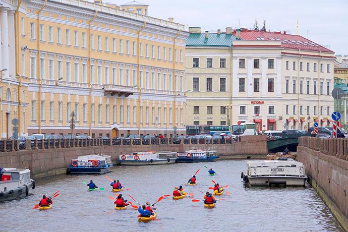 Мойка в Санкт-Петербурге