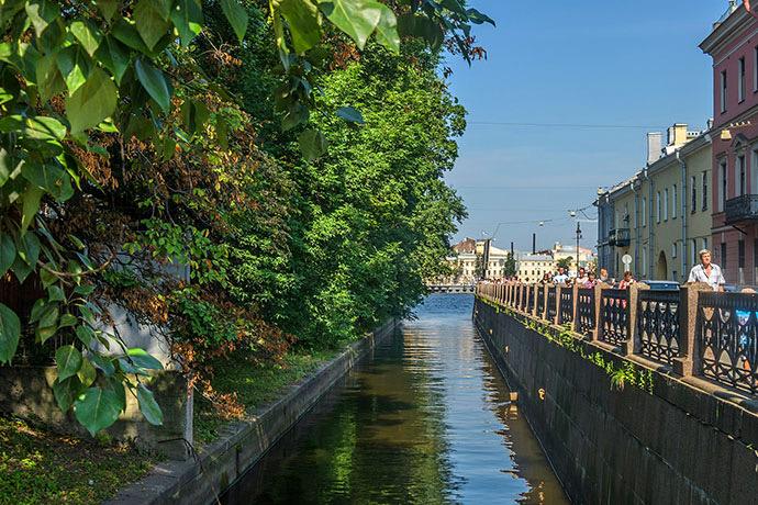 Ново-Адмиралтейский канал в Петербурге