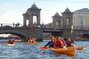 река Фонтанка Санкт-Петербург